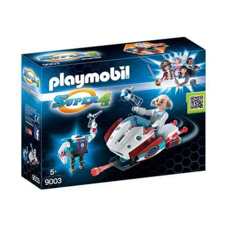 Playmobil Skyjet z dr X i Robotem 9003