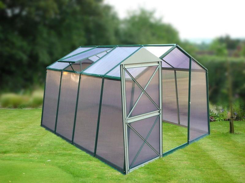LanitPlast skleník LANITPLAST DODO 8x10 PC 6 mm zelený