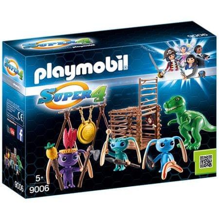 Playmobil 9006 Földönkívüli harcos T-Rex csapdával