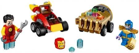 LEGO® Super Heroes 76072 Mogočni mikri: Iron Man proti Thanosu