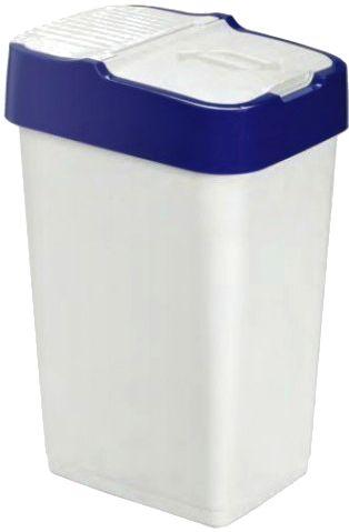 Heidrun Odpadkový koš Push Up 35 l modrá