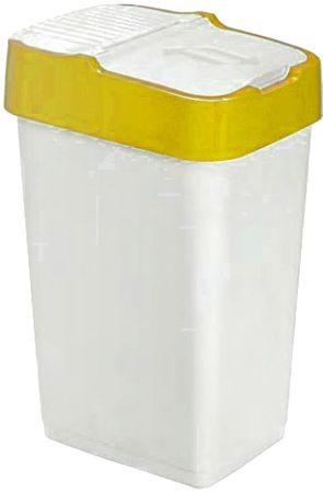Heidrun koš za smeti, 60 l, rumen