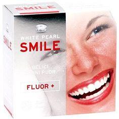 White Pearl Smile Bělící pudr Fluor+ 30 g