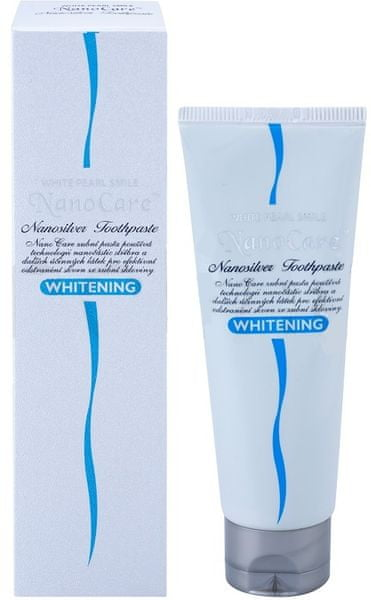 White Pearl NanoCare whitening pasta 100 ml