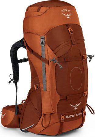 OSPREY plecak Aether AG 70 Outback Orange L