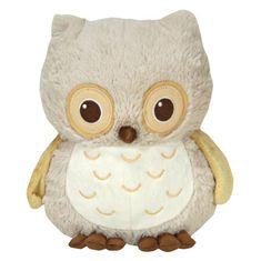 Cloud B Sunshine Owl - Natural - Sowa z pozytywką