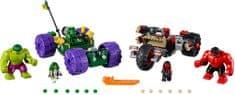 LEGO Super Heroes 76078 Hulk proti Rdečemu Hulku
