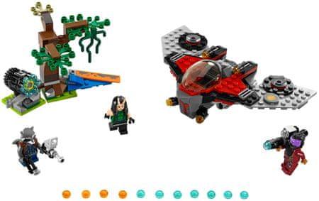 LEGO Super Heroes 76079 Napad Ravagerja