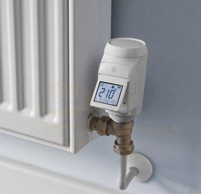 Honeywell HR92EE, bezdrôtová termostatická hlavica - rozbalené