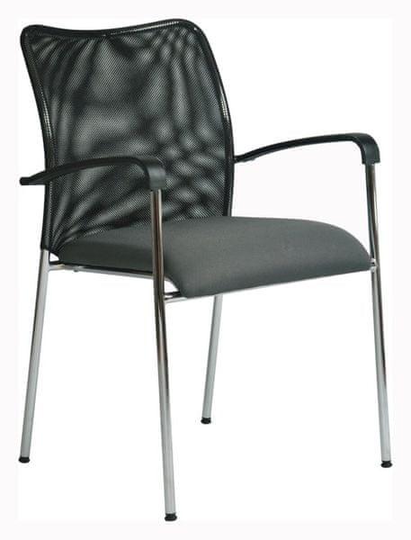 Konferenční židle Spider šedá