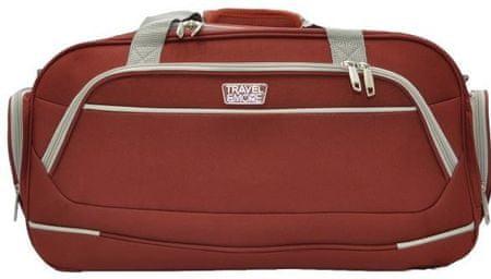 Travel and More torba, potovalna, 50 x 28 x 26 cm, rdeča