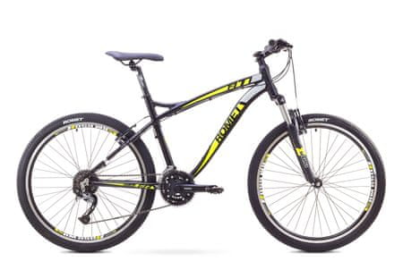 "Romet rower górski Fit 26"" czarno-zielony L 20"" model 2017"