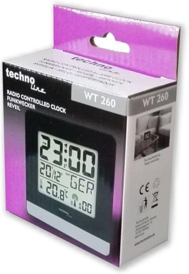 Technoline Cyfrowy budzik WT 260