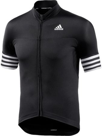 Adidas moška kolesarska majica Adistar SS, črna