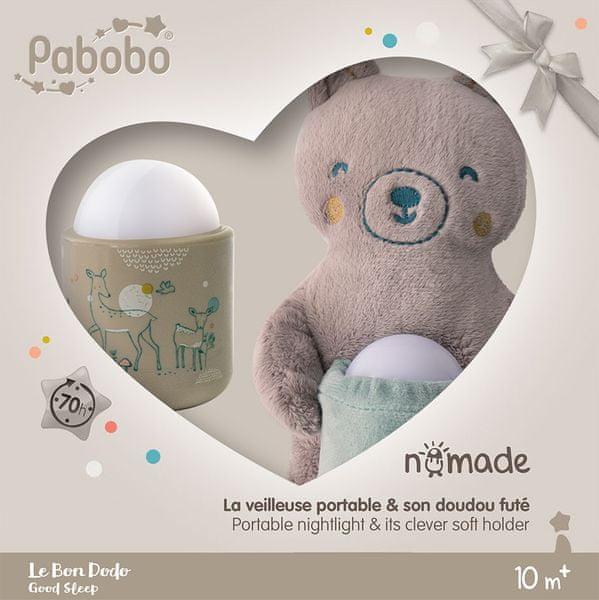 Pabobo Automatické noční světlo NOMADE GIFT BOX