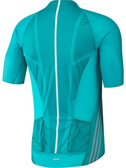 Adidas moška kolesarska majica Adizero SS, turkizna