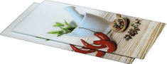 HAMA Xavax sklenená doštička Spice 52x30 cm, 2 ks