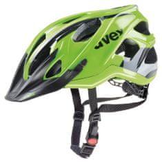 Uvex kolesarska čelada Stivo C (2017), črna/zelena