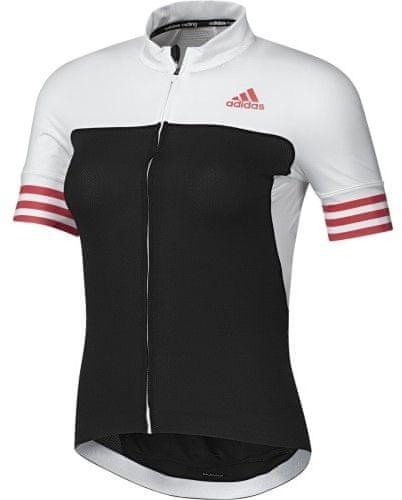 Adidas ženska kolesarska majica Adistar SS, črna/bela