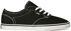 Vans Atwood Low (Canvas) Black/White