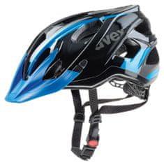 Uvex kolesarska čelada Stivo C (2017), črna/modra