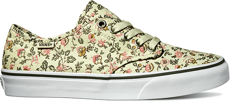 Vans Camden Stripe (Vintage Floral) Off White/Grape 40