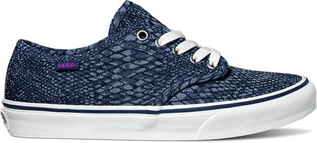 Vans ženski čevlji Camden Stripe (Snake Jacquard), modri, 36