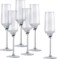 Alpina kozarci za šampanjec 220 ml, 6 kos