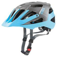 Uvex kolesarska čelada Quatro (2017), modra/siva