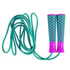 Spokey Candy Rope ugrálókötél, Zöld-lila