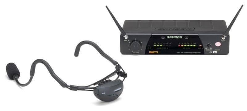 Samson AirLine 77 Headset System QE E3 Bezdrátový hlavový set