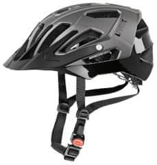 Uvex kolesarska čelada Quatro (2017), črna/siva