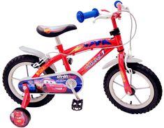 Stamp Bicykel 12'' s postrannými kolieskami Cars