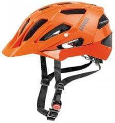 Uvex kolesarska čelada Quatro (2017), oranžna