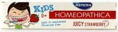 Astera Homeopatica otroška naravna zobna krema, sočna jagoda, 75 ml