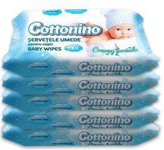 Cottonino otroški vlažni robčki 5 pack