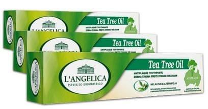 L'Angelica biljna pasta za zube čajevac, 75 ml, 3 komada