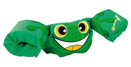 Sevylor jopič z rokavčki Puddle Jumper Deluxe, zelena žaba