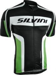 Silvini kolesarska majica Lemme MD603, črna/zelena