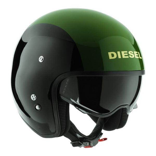 Diesel přilba HI-JACK černá/zelená vel.S (55-56cm)
