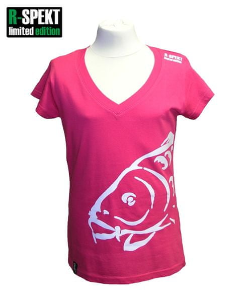 R-SPEKT Tričko Lady Carper růžové L