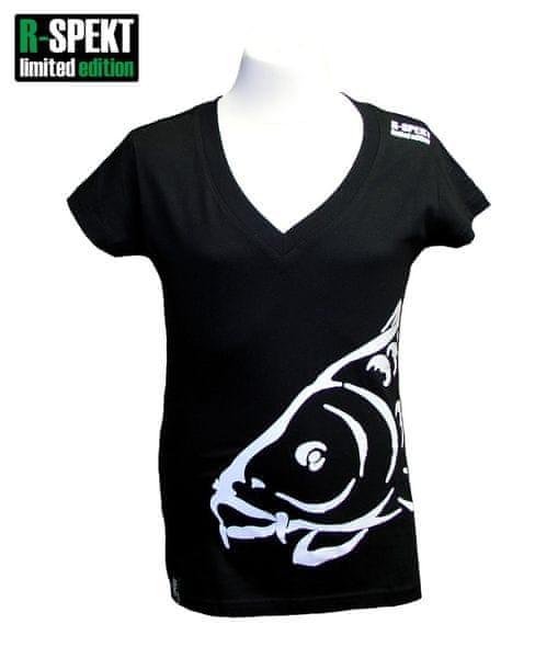 R-SPEKT Tričko Lady Carper černé S