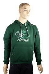 R-SPEKT Mikina s kapucí Carp Friend deep green