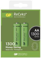 GP polnilne baterije ReCyko+ 1300 HR6 AA, 2 kosa