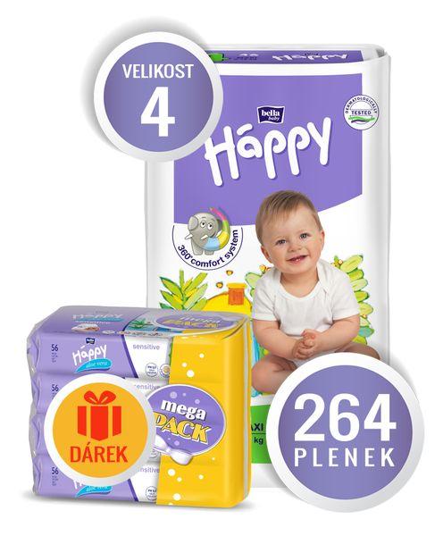 Bella Happy Maxi Big Pack - 264 ks