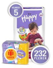 Bella Happy Pieluchy Junior Big Pack - 174 + 58 szt.