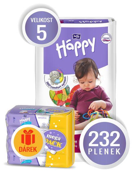 Bella Happy Junior Big Pack - 232 ks