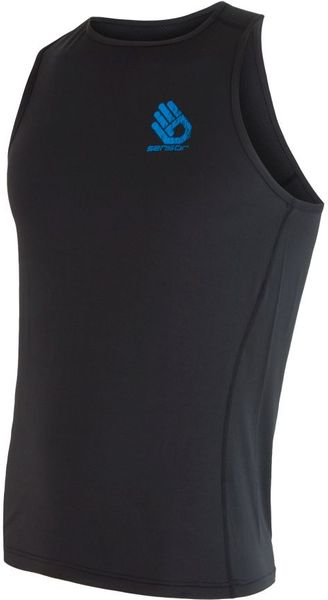Sensor Coolmax Fresh PT Hand pánské triko bez rukávů černá L