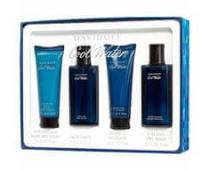 Davidoff Cool Water Man - EDT 75 ml + voda po holení 75 ml + sprchový gel 75 ml + balzám po holení 75 ml