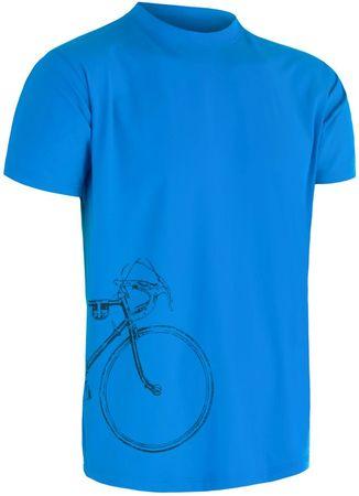 Sensor Coolmax Fresh PT Tour pánske tričko kr.ruk. modrá M